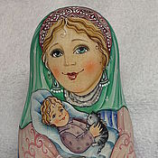 """Куклы и игрушки ручной работы. Ярмарка Мастеров - ручная работа Неваляшка """"Колыбельная"""". Handmade."""