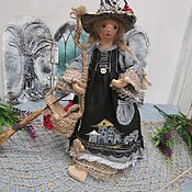 Dolls handmade. Livemaster - original item Forest witch 2. Handmade.
