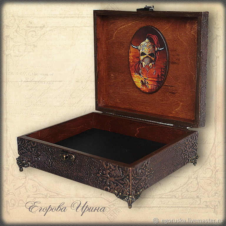 Mens jewelry box the Phantom shop online on Livemaster with