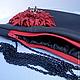 Женские сумки ручной работы. Сумочка-клатч из кожи с красным цветком (ART. 50081). HANDMADE  MELNIKOVA OLGA (BORSE). Интернет-магазин Ярмарка Мастеров.