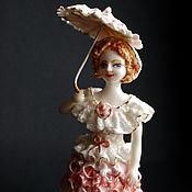 Для дома и интерьера handmade. Livemaster - original item Lady with a parasol.. Handmade.