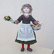 """Куклы и игрушки ручной работы. Ярмарка Мастеров - ручная работа кукла """"Мадам Аннет. Лучшие цветы Парижа."""". Handmade."""
