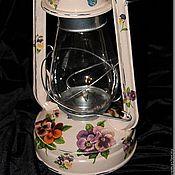 Для дома и интерьера ручной работы. Ярмарка Мастеров - ручная работа Лампа керосиновая большая. Handmade.