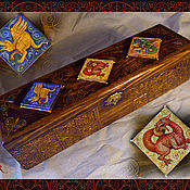 """Для дома и интерьера ручной работы. Ярмарка Мастеров - ручная работа Футляр для ножа """"Medieval"""". Handmade."""