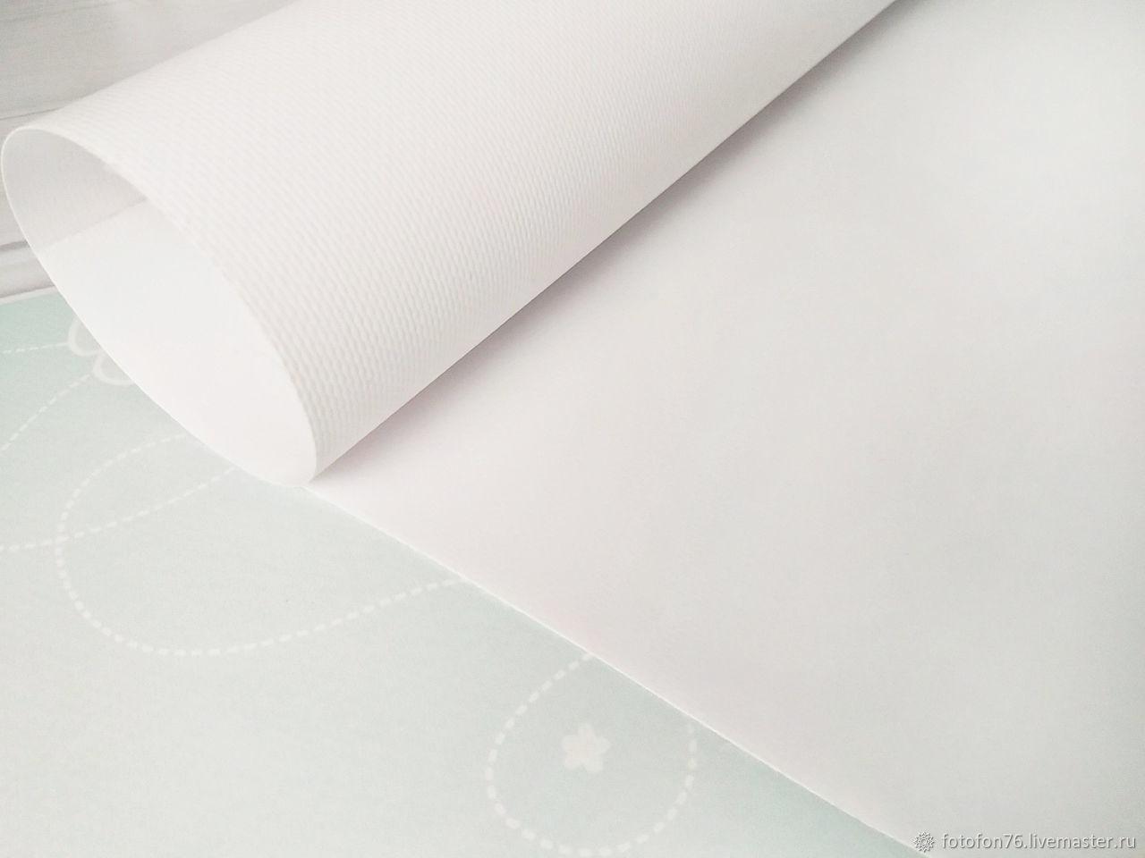 Фотофон виниловый Белый однотонный 40х40 см, Фото, Ярославль,  Фото №1