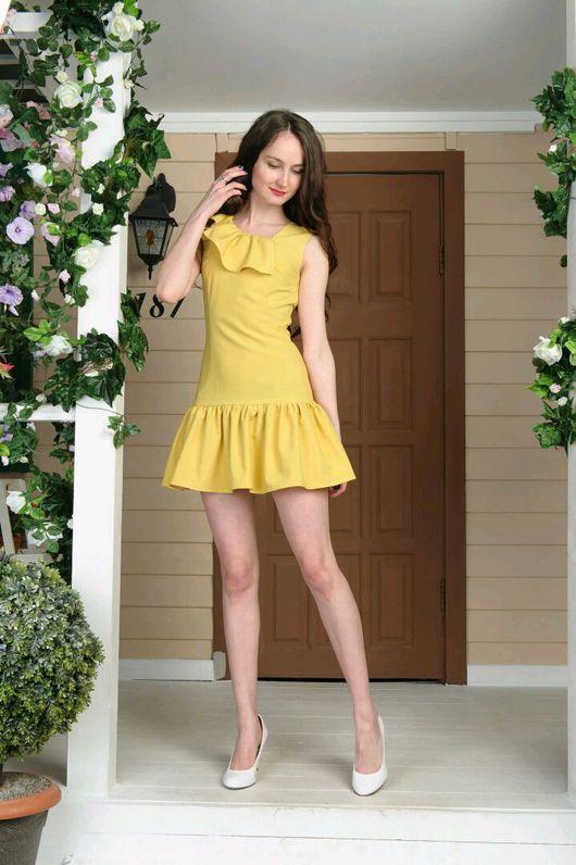 Платья ручной работы. Ярмарка Мастеров - ручная работа. Купить Платье 033. Handmade. Платье, платье на каждый день