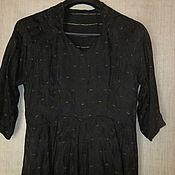 (78-26-В) Платье 40-е.г. винтаж СССР р.48