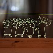 Для дома и интерьера ручной работы. Ярмарка Мастеров - ручная работа Ангелы поющие. Handmade.
