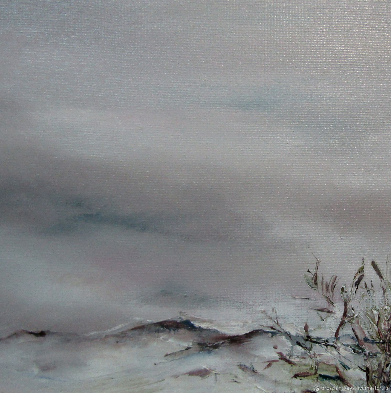 Зимнее небо, Картины, Тула,  Фото №1