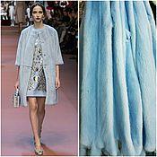 Одежда ручной работы. Ярмарка Мастеров - ручная работа Шуба из норки голубая. Handmade.