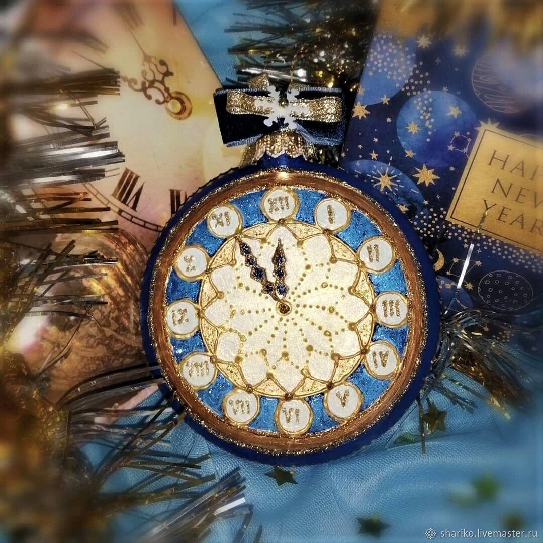 Медальон с ручной росписью, Елочные игрушки, Иркутск,  Фото №1