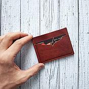 Сумки и аксессуары handmade. Livemaster - original item Cardholders from the skin. Handmade.
