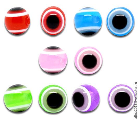 бусины-глазки 10мм
