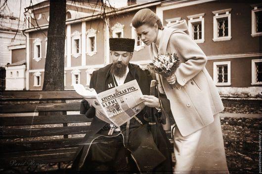 Фото-работы ручной работы. Ярмарка Мастеров - ручная работа. Купить Казацкая свадьба. Handmade. Комбинированный, фотосессия в москве, фотография