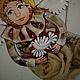 Подвески ручной работы. Панно ангел с голубем.. Олькун Мамонтова (kotopesia). Ярмарка Мастеров. Панно на стену, подарок на день рождения