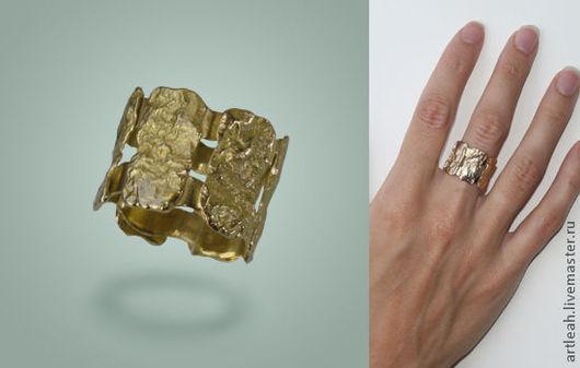 """Кольца ручной работы. Ярмарка Мастеров - ручная работа. Купить Кольцо золотое. """"Сотворение Мира"""". Handmade. Кольцо золотое"""