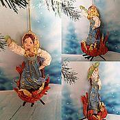 """Куклы и пупсы ручной работы. Ярмарка Мастеров - ручная работа Ватная игрушка"""" Огневушка-поскакушка """". Handmade."""