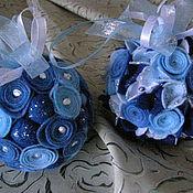 Подарки к праздникам ручной работы. Ярмарка Мастеров - ручная работа елочный шар. Handmade.