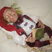 """Куклы и игрушки ручной работы. Ярмарка Мастеров - ручная работа Гном Кукла коллекционная """"Спящий гном"""". Handmade."""