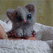Куклы и игрушки ручной работы. Ярмарка Мастеров - ручная работа Кошечка Гипотенуза. Handmade.