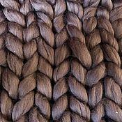 Для дома и интерьера ручной работы. Ярмарка Мастеров - ручная работа Плед крупной вязки. Handmade.
