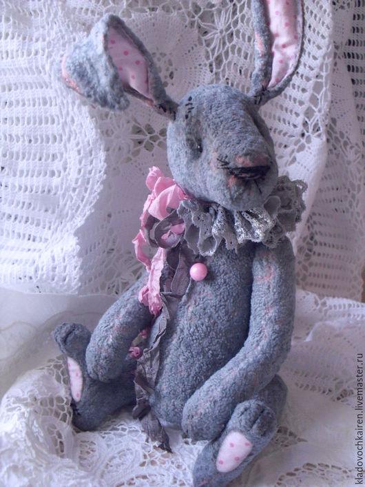 Мишки Тедди ручной работы. Ярмарка Мастеров - ручная работа. Купить Тедди кролик Гламурчик. Handmade. Розовый, Плюшевый мишка