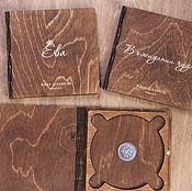 Инструменты для кукол и игрушек ручной работы. Ярмарка Мастеров - ручная работа Коробка для диска, упаковка для CD-диска. Handmade.