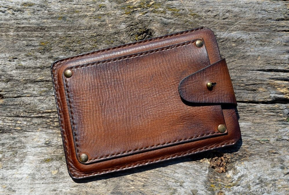 Leather vintage case for e-book, Case, Sizran,  Фото №1