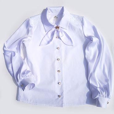 """Одежда ручной работы. Ярмарка Мастеров - ручная работа Школьная блузка """"Красота и комфорт"""". Handmade."""