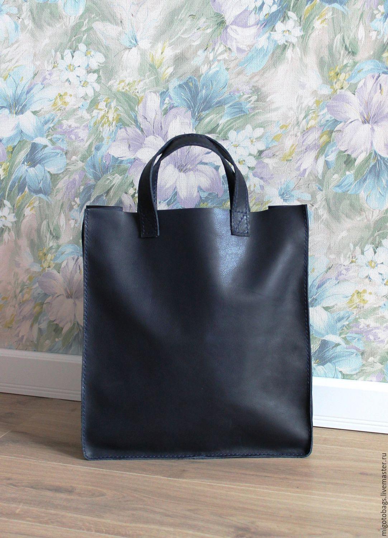 Handbags handmade. Livemaster - handmade. Buy leather women's bag shopper handmade.Gift, gift for birthday
