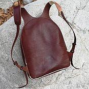 Сумки и аксессуары handmade. Livemaster - original item Backpack Leather handmade art FLEX. Handmade.