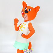 Одежда handmade. Livemaster - original item Foxy. Scenic suit/Cosplay/Carnival costume. Handmade.