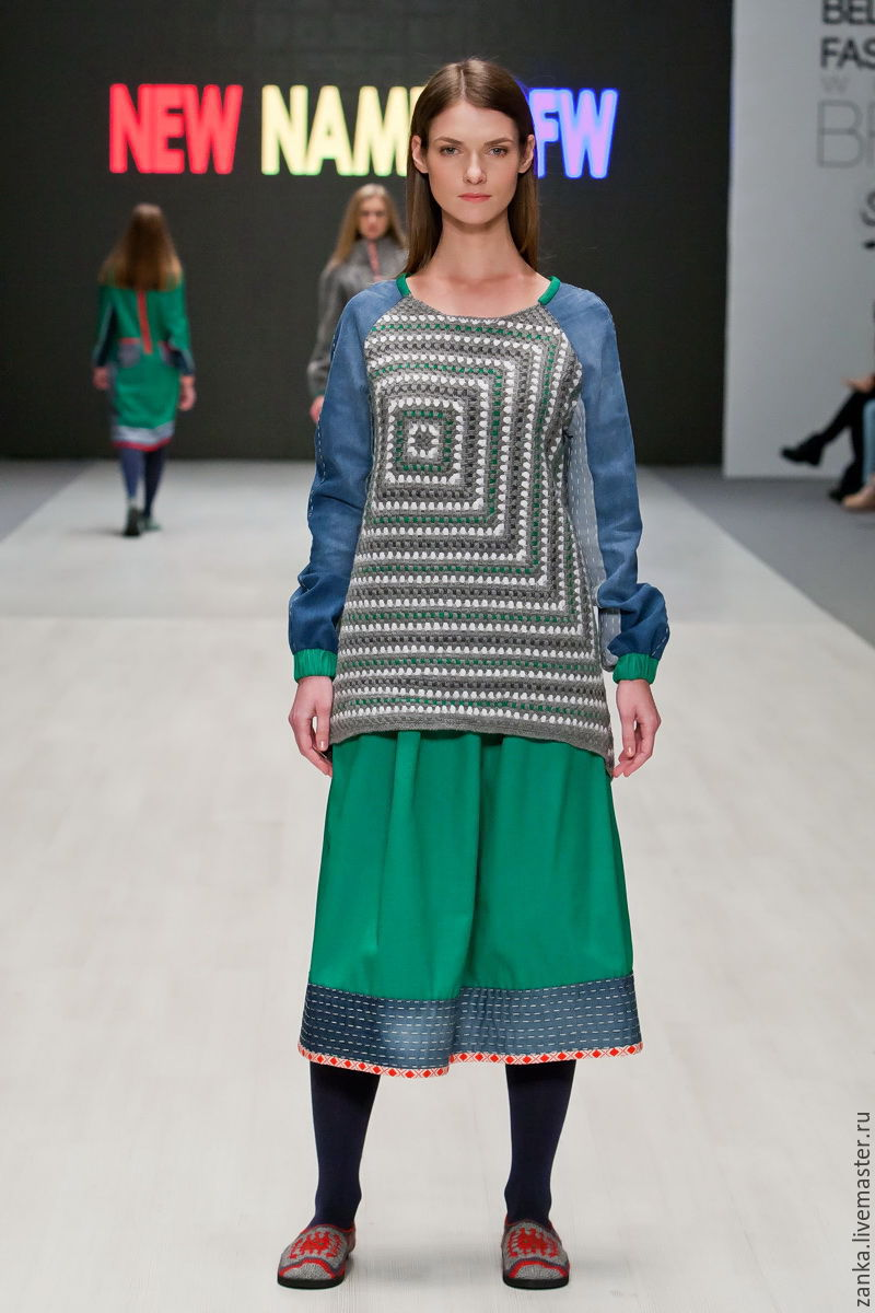 Denim skirt from the collection 'Sustrecha', Skirts, Baranovichi,  Фото №1