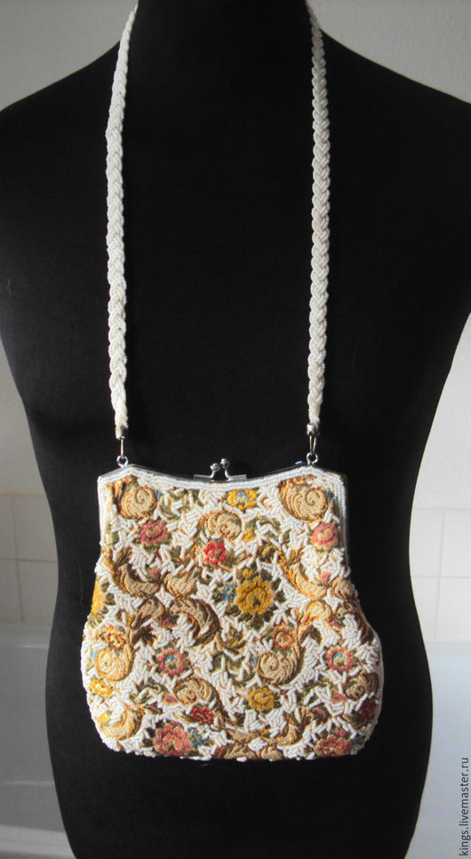 Винтажные сумки и кошельки. Ярмарка Мастеров - ручная работа. Купить Винтажная сумочка.. Handmade. Комбинированный, гобеленовая ткань