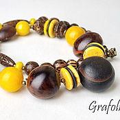 Украшения handmade. Livemaster - original item Beads, stones and nuts. Handmade.