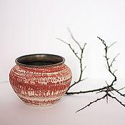 Вазы ручной работы. Ярмарка Мастеров - ручная работа Ваза керамическая Нериаге. Handmade.