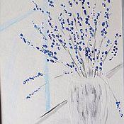 """Картины и панно ручной работы. Ярмарка Мастеров - ручная работа Картина """"Нежность"""". Handmade."""