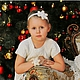 Детская бижутерия ручной работы. Ярмарка Мастеров - ручная работа. Купить Снежинка для волос. Handmade. Белый, повязка на новый год
