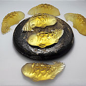 Косметика ручной работы. Ярмарка Мастеров - ручная работа Мыло медовое Золотая рыбка. Handmade.