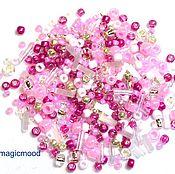 Материалы для творчества handmade. Livemaster - original item 10g Toho MIX 3214 Sakura Japanese beads TOHO. Handmade.