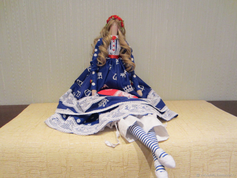Интерьерная текстильная кукла, Тильды, Москва, Фото №1
