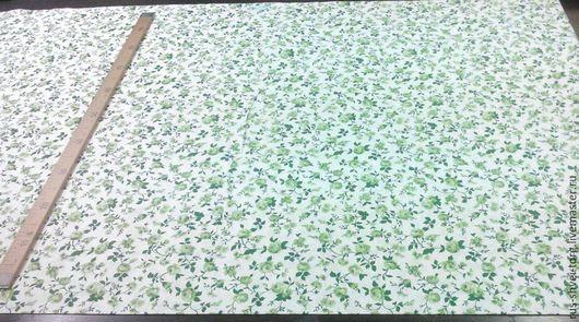 Ткань Хлопок 100%. Россия `Мелкие цветочки`