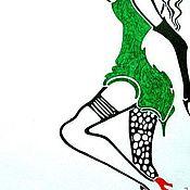 Картины и панно ручной работы. Ярмарка Мастеров - ручная работа Цигель-цигель, ай лю лю! )). Handmade.