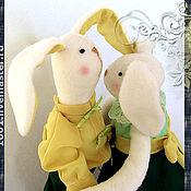 """Куклы и игрушки ручной работы. Ярмарка Мастеров - ручная работа Бальная парочка """"Алик и Атали"""". Handmade."""
