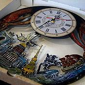 Для дома и интерьера handmade. Livemaster - original item Wall clock St. Petersburg, unusual clock to order. Handmade.