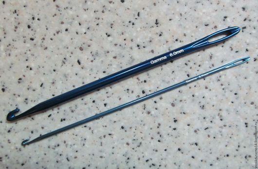Вязание ручной работы. Ярмарка Мастеров - ручная работа. Купить Крючок для нукинга. Handmade. Комбинированный, крючок для вязания, инструмент для вязания