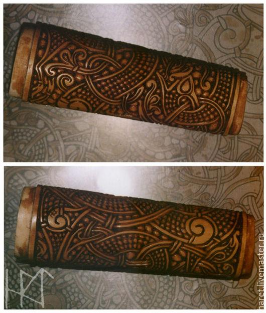 Оружие ручной работы. Ярмарка Мастеров - ручная работа. Купить Костяные Рукояти для ножей. Handmade. Бежевый, резная, старинный