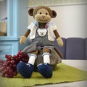 Куклы и игрушки handmade. Livemaster - original item the Monkey toy gift for a child. Handmade.