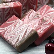 Косметика ручной работы handmade. Livemaster - original item Soap chocolate-covered cherries. Handmade.