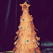 Подарки к праздникам handmade. Livemaster - original item Christmas tree. Handmade.